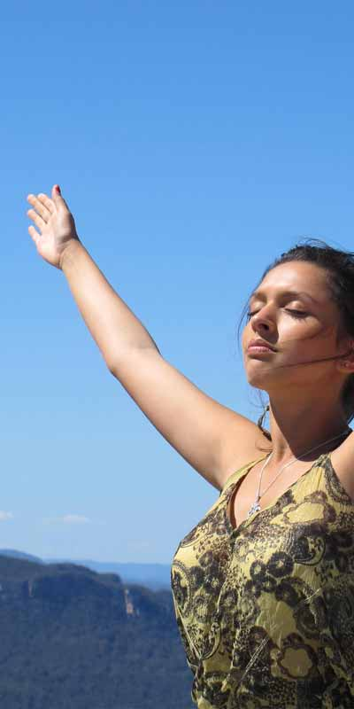 Radha Blue Sky Bliss