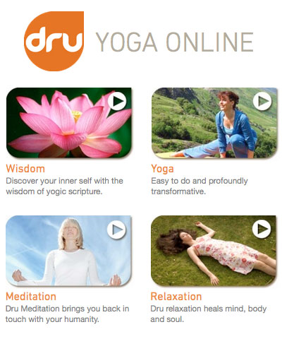 dru yoga online free trial