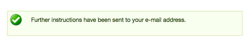 re-set password step 2