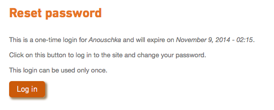 re-set password step 4