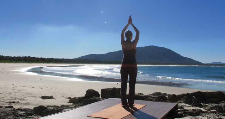 Coby Langford Dru Yoga teacher trainer