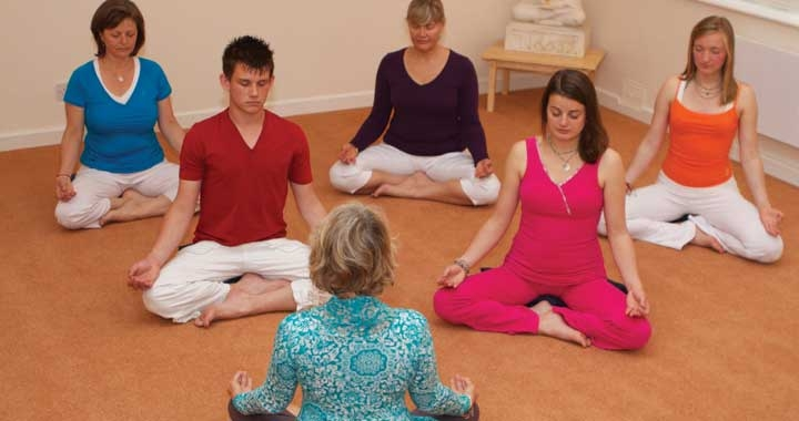 Mouli teaching Dru Meditation