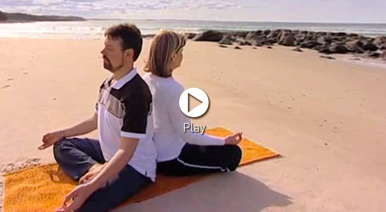 Sitting comfortably for Dru Medittion